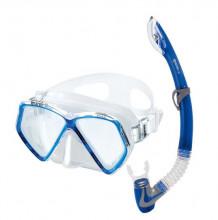Dětský set Pirate (maska+šnorchl) modrý