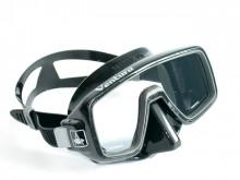 Maska Ventura černá / černý silikon
