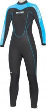 Neoprenový oblek Velocity Full 5mm Lady modrý, vel. 12
