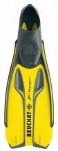 Ploutve šnorchlovací X-Voyager Full Foot žluté