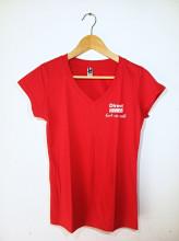 Tričko Direct Ocean červené dámské