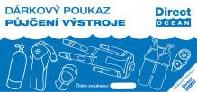 Poukaz na půjčení výstroje na potápění