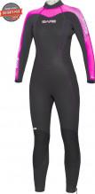 Neoprenový oblek Velocity Full 5mm Lady růžový