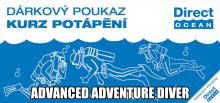 Kurz potápění Advanced Adventure Diver (pro pokročilé)