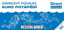 Kurz potápění Rescue Diver (potápěč záchranář)