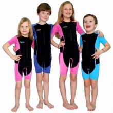 Dětský oblek do vody Silky neopren-lycra tyrkysový